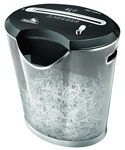 Fellowes Powershred HD-10Cs 10-Sheet Cross-cut Paper and Credit Card Shredder with SafeSense Technology  (3028002) by Fellowes