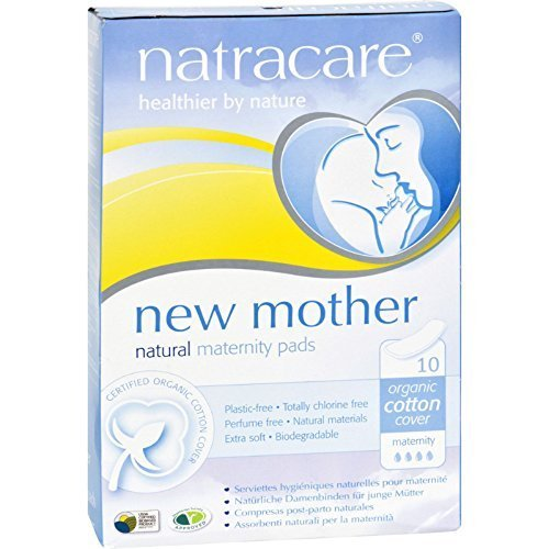 Natracare New Mother Natural Maternity Pads - 10 Pads - New Mother Natural Maternity Pads