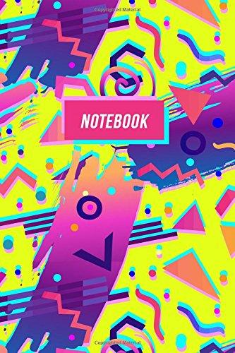 Download Notebook: Retro 90s Nostalgia Journal  Fluoro Abstract Design (90s Nostalgia Gifts) (Volume 2) pdf