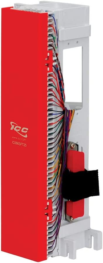 telco 66 block wiring diagram amazon com icc 66 block telco 25pr female electronics  icc 66 block telco 25pr female