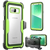 i-Blason Galaxy S8 Plus Case, [Armorbox] [Full body] [Heavy Duty Protection ] Shock Reduction / Bumper Case WITHOUT Screen Protector for Samsung Galaxy S8 Plus 2017 Release (Green)