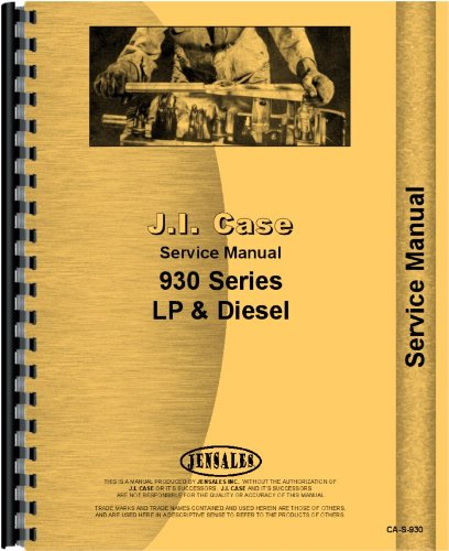 Read Online Case 930 Tractor Service Manual ebook