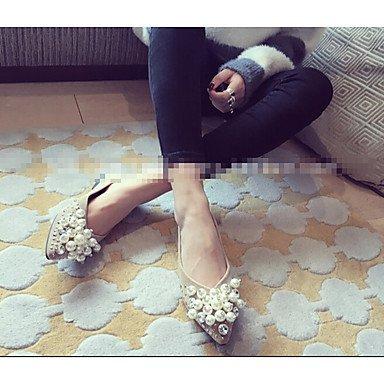 Cómodo y elegante soporte de zapatos de tacón para mujer otros piel sintética al aire libre negro verde gris burdeos caqui