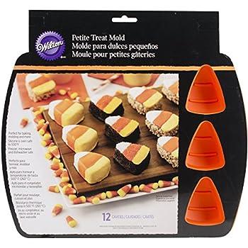 Wilton 2105-8331 12 Cavity Silicone Candy Corn Mold