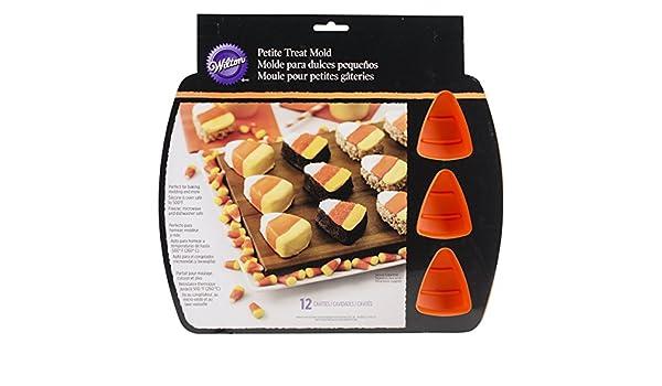 Amazon.com: Wilton 2105-8331 12 Cavity Silicone Candy Corn ...