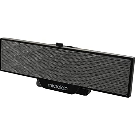 Review Microlab B51BLACK Portable Amplified