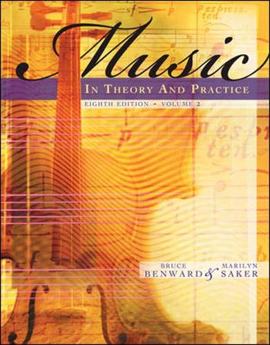 Music in Theory and Practice, Volume 2 with Audio CD