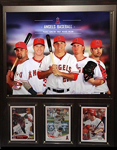 MLB Los Angeles Team Plaque