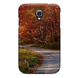Brand New S4 Defender Case For Galaxy (autumn Free Country Roadstake Me Home)