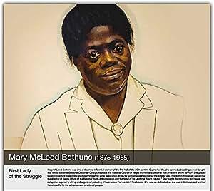 "Simply Calendar ""Celebration of Black History"" 2018 Wall Calendar - 10.5"" x 18"" (Open)"