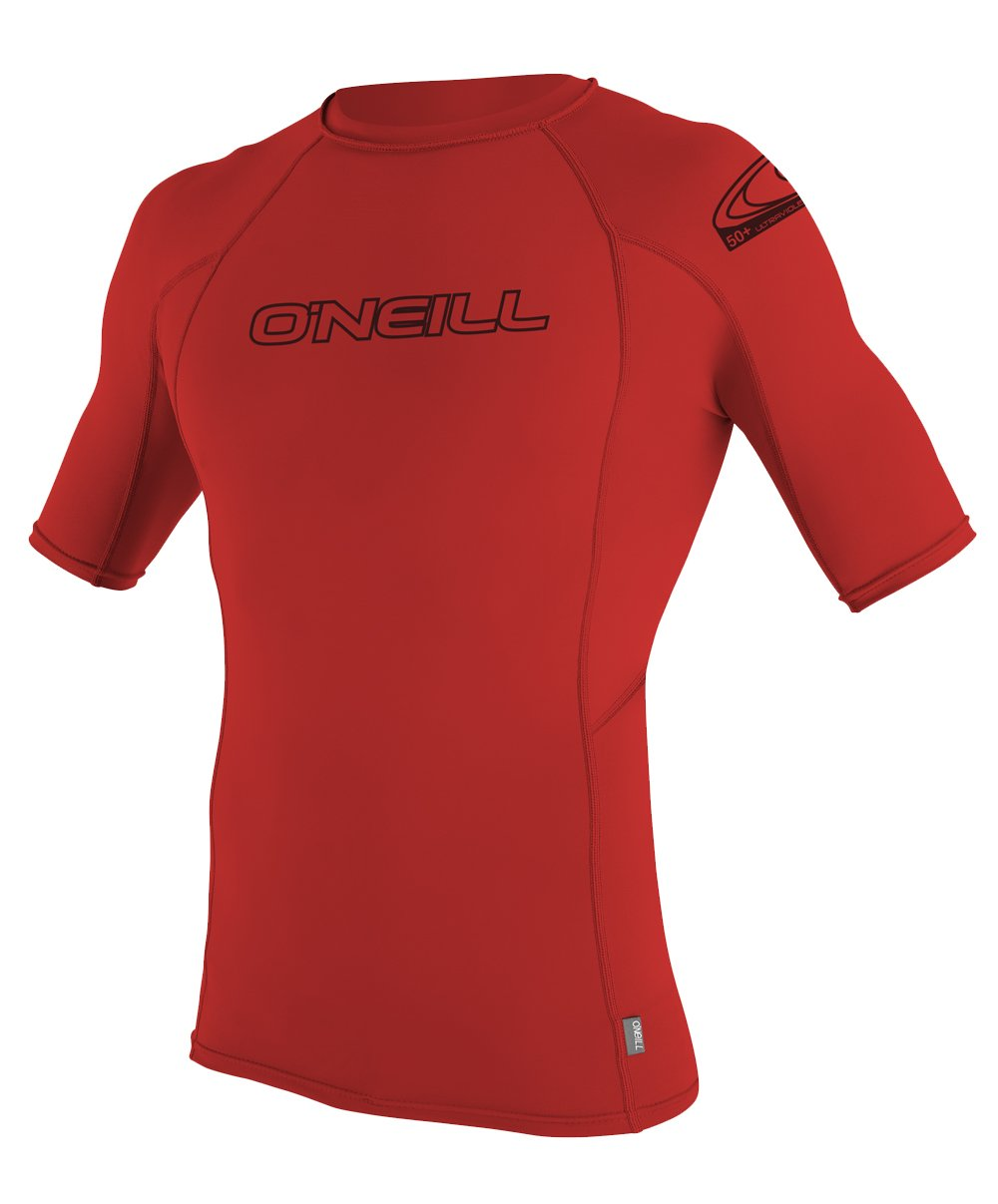 O'Neill UV Sun Protection Youth Basic Skins, Red, 14