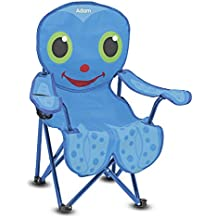 Melissa & Doug Personalized Sunny Patch Flex Octopus Folding Beach Chair For Kids Outdoor
