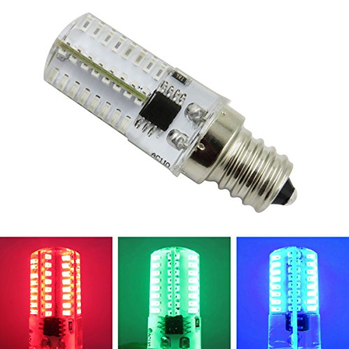 Red And Green Landscape Light Bulbs