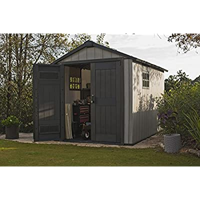 eter-Oakland-75-x-11-Outdoor-Duotech-Storage-Shed-Paintable-with-Two-Windows-and-a-Skylight