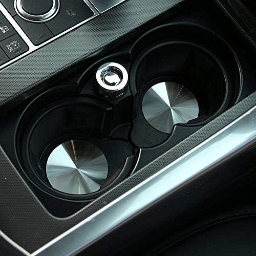 304 Edelstahl Cup Halter Abdeckung Matte Trim Cover Auto Zubehör Für Sport Vogue Discovery Sport Discovery 4 Lr5 Einweg Auto