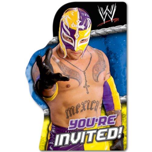 (WWE Wrestling Invitations w/ Envelopes (8ct))