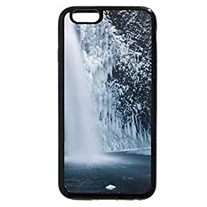 iPhone 6S Plus Case, iPhone 6 Plus Case, powerful waterfall in winter
