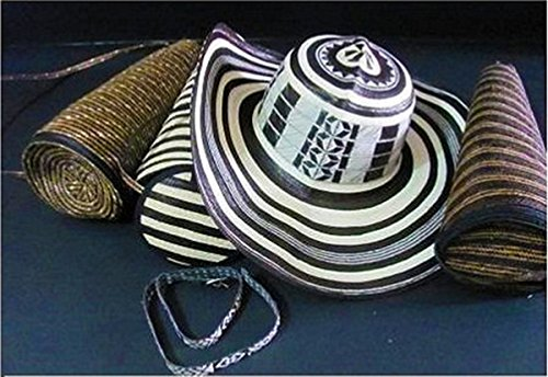 Coastal Sombrero Hat - Colombian Hat Sombrero Sinuano 20 Vueltas Made By Colombian Artisans Excellent Quality