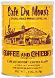Cafe Du Monde Coffee and Chicory, 15 Ounce Cans, Case of 24