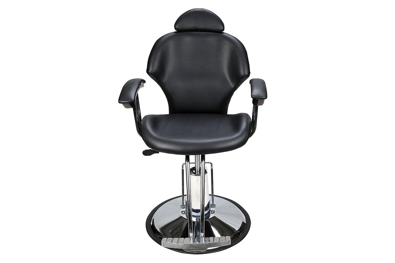 Barberpub Classic Hydraulic Barber Chair Salon Spa Hair Beauty Chair Styling Equipment