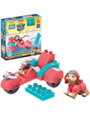 MEGA GYH94 - Mega Bloks Paw Patrol Liberty Scooter Zestaw do budowania z 11 klocków, zestaw do zabawy dla dzieci od 3 lat