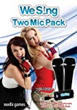 We Sing: Microphone Pack – 2 Microphones and USB Hub – Nintendo Wii