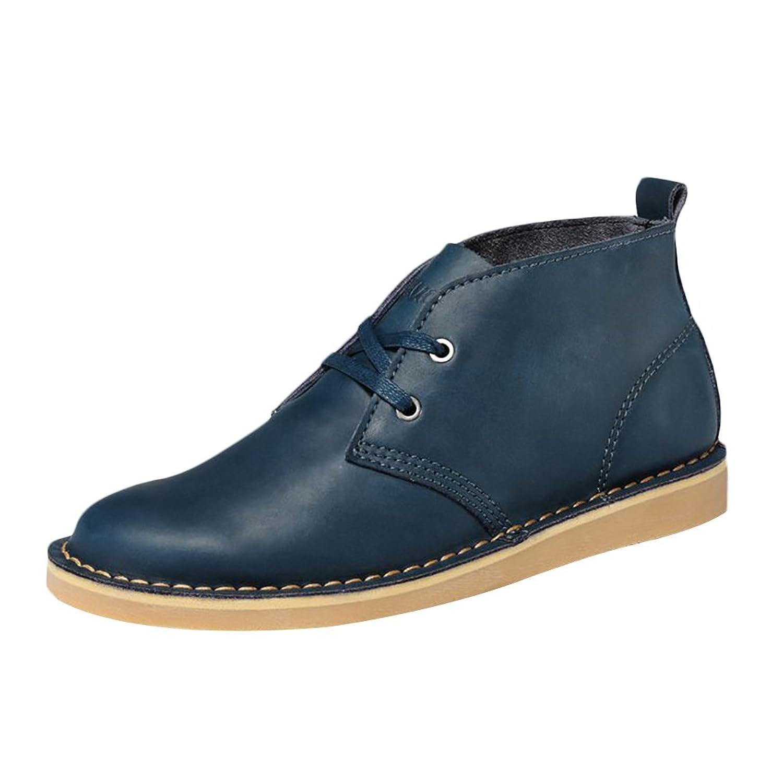ICEGREY Herren Desert Boots Kurzschaft Stiefel  Stiefeletten Blau EU 44