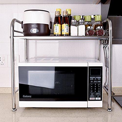 Yeeper Sturdy Rack For Microwave Oven,Kitchen Storage Shelf