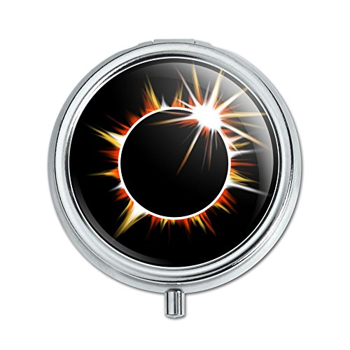 Price comparison product image Total Solar Eclipse Painted Pill Case Trinket Gift Box