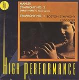 Mahler: Symphony Nos. 3 & 1