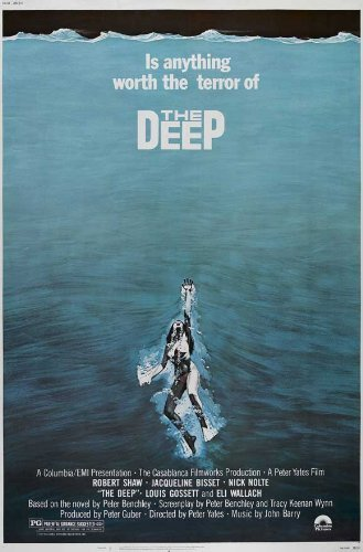 The Deep POSTER Movie (27 x 40 Inches - 69cm x 102cm) (1977) (Style B)