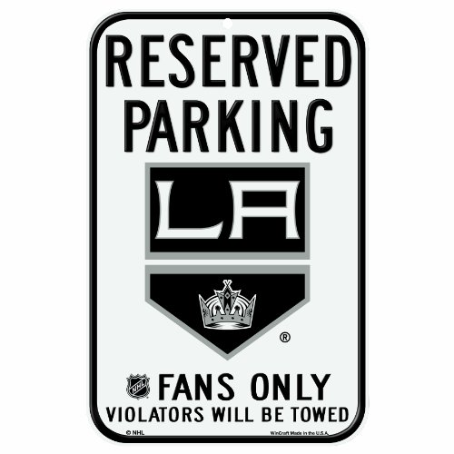 NHL Los Angeles Kings 11-by-17 Inch Sign (Nhl Sign)