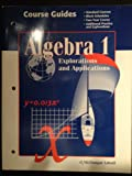 Algebra 1: Explorations and Applications, McDougal, 0395769698
