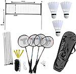 Set de badminton complet pour 4 joueurs