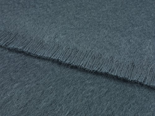 Mohair Wool Throw - Luxury Mohair Juniper Throw Blanket 72