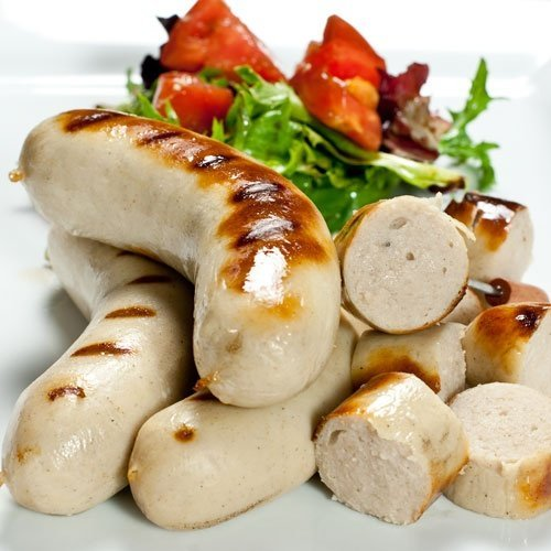 lanc Sausages 4 links 1 lb by Fabrique Delices (Sausage 4 Links)