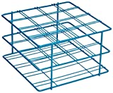 Bel-Art F18794-0001 Poxygrid Centrifuge Tube Rack; 50ml, 16 Places, 6⅛ x 5⅞ x 3⅝ in., Blue