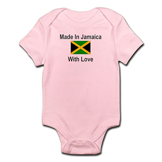 0cd0818b2 Amazon.com: CafePress-Made In Jamaica With Love-Cute Infant Bodysuit ...