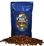 Hawaii Roasters 100% Jamaica Blue Mountain Coffee, Whole Bean, 14-Ounce Bag