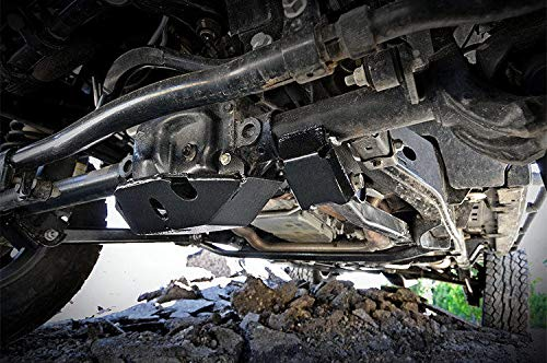Front Dana 30 Differential Skid Plate 2007-2018 Jeep Wrangler JK d J Rough Country 797