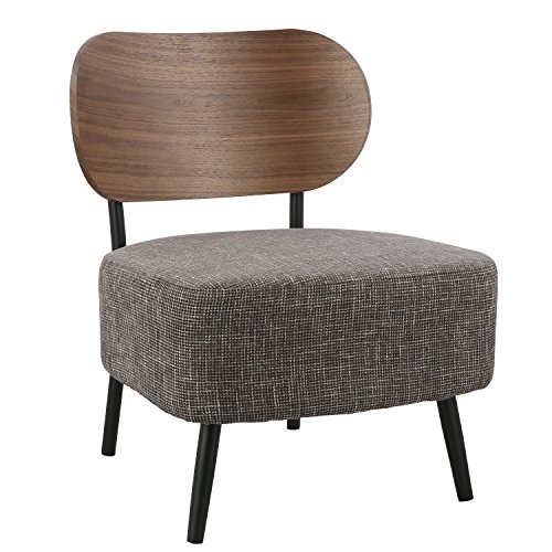 POLY & BARK Wellington Accent Chair (Accent Walnut Chair)