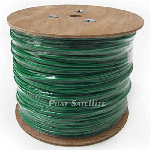 50ft MADE IN USA Green 6AWG THHN PVC Jacket BARE Copper G...