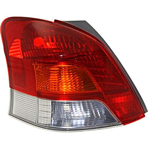 Fits 09-11 Toyota YARIS Hatchback Tail Lamp / Light Left Driver