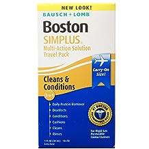 Boston Multi Action Solution, Simplus Travel Kit, 1-Ounce Bottles (Pack Of 3)