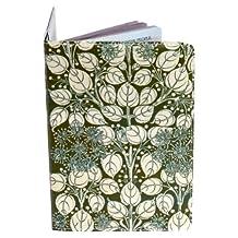 Green Floral Passport Holder
