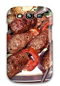 Hot Design Premium MCb-2631vdbsxYxr Tpu Case Cover Galaxy S3 Protection Case(barbecue)