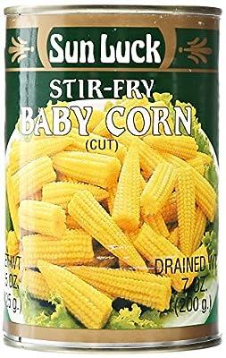 Sun Luck Cut Baby Corn, 15 oz