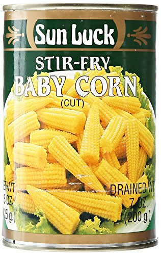 Baby Corn (Sun Luck Cut Baby Corn, 15 oz)