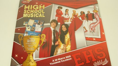 - 2 LOT High School Musical Sealed desk + Yearbook Calendar Camp Rock 2010 MINT NEW NOS