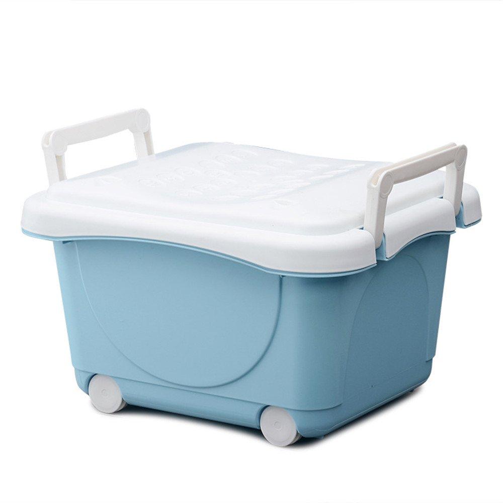 C5 Zhongsufei Aufbewahrungsbox für Kinder Aufbewahrungsbox mit Deckel auf Rädern Aufbewahrungsbox für einfachen Umweltschutz Bücher Brust Kleidung Sitz (Farbe   C5)